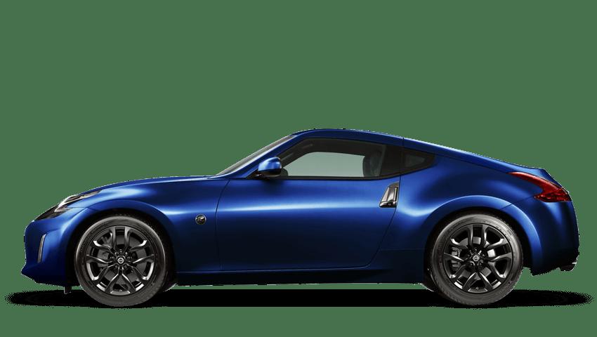 Daytona Blue Nissan 370z