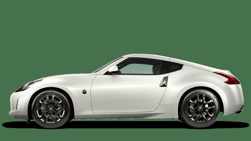 Storm White Nissan 370z