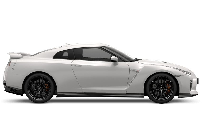 Storm White Nissan Gt R