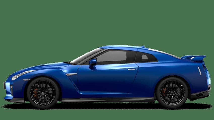 Daytona Blue Nissan Gt R