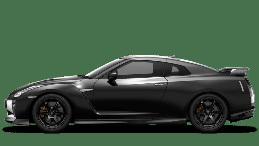 Pearl Black Nissan Gt R