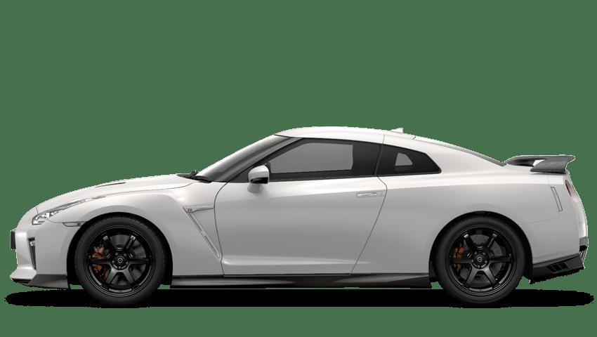 Storm White Nissan Gt R