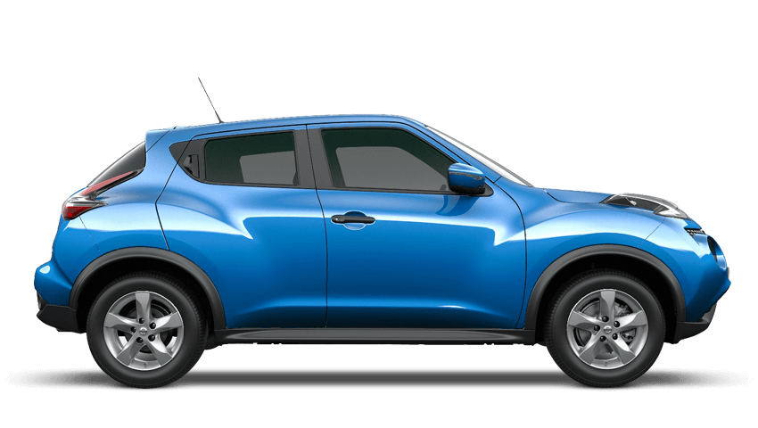 Vivid Blue Nissan Juke