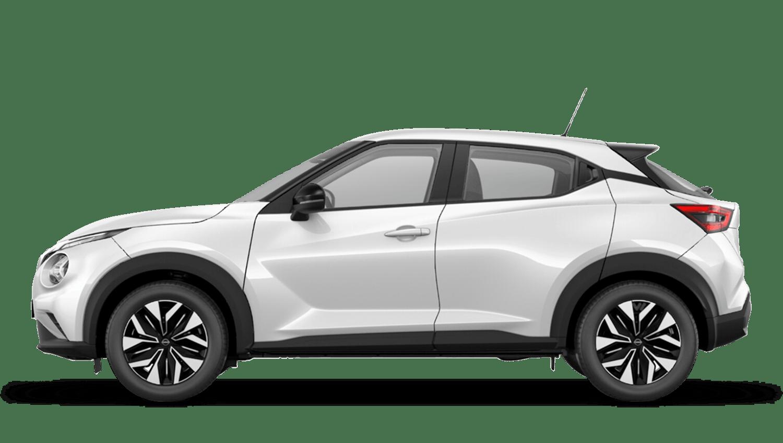 Arctic White Next Generation Nissan Juke