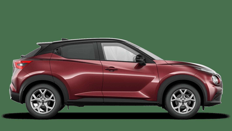 Burgundy with Pearl Black Roof Next Generation Nissan Juke