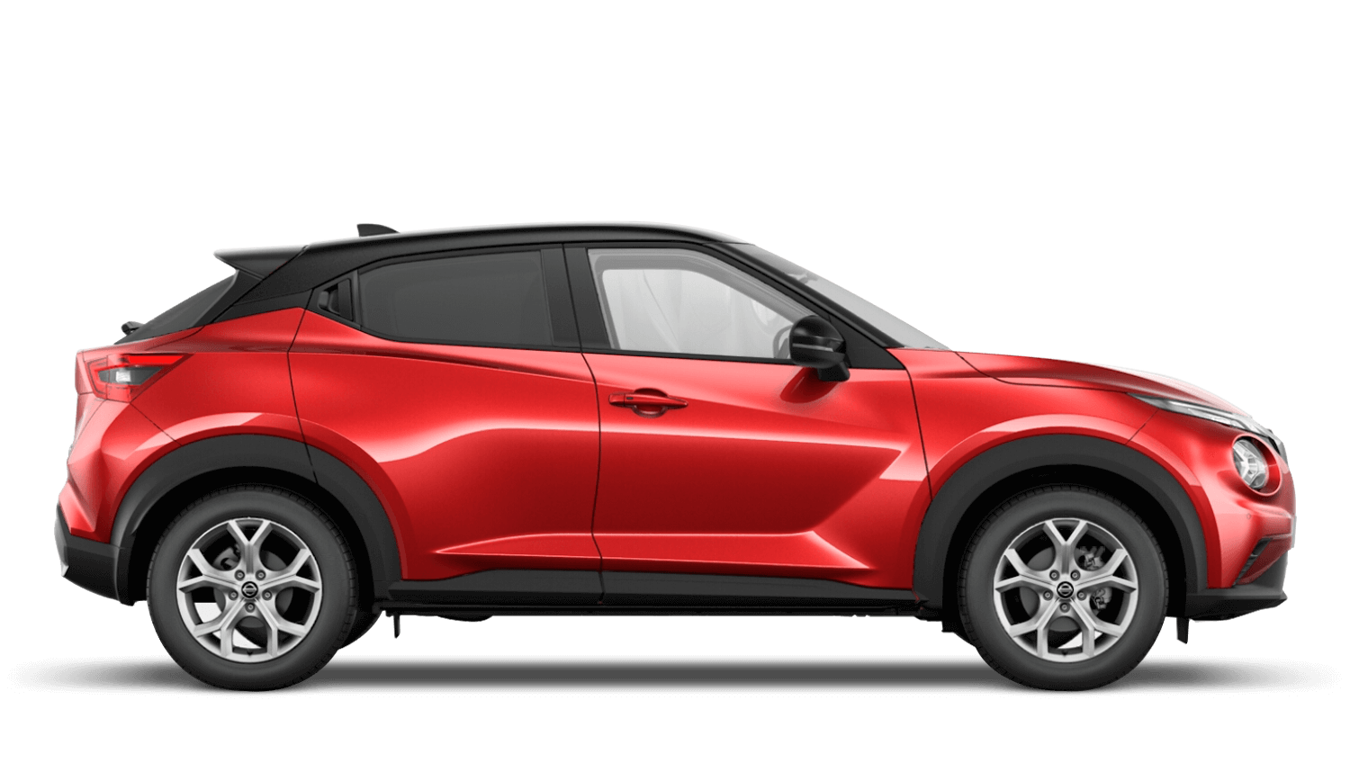 Fuji Sunset Red with Pearl Black Roof Next Generation Nissan Juke