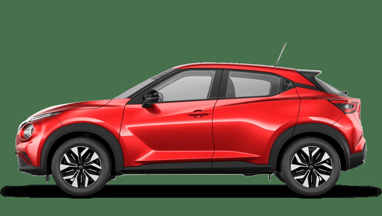 Fuji Sunset Red Next Generation Nissan Juke