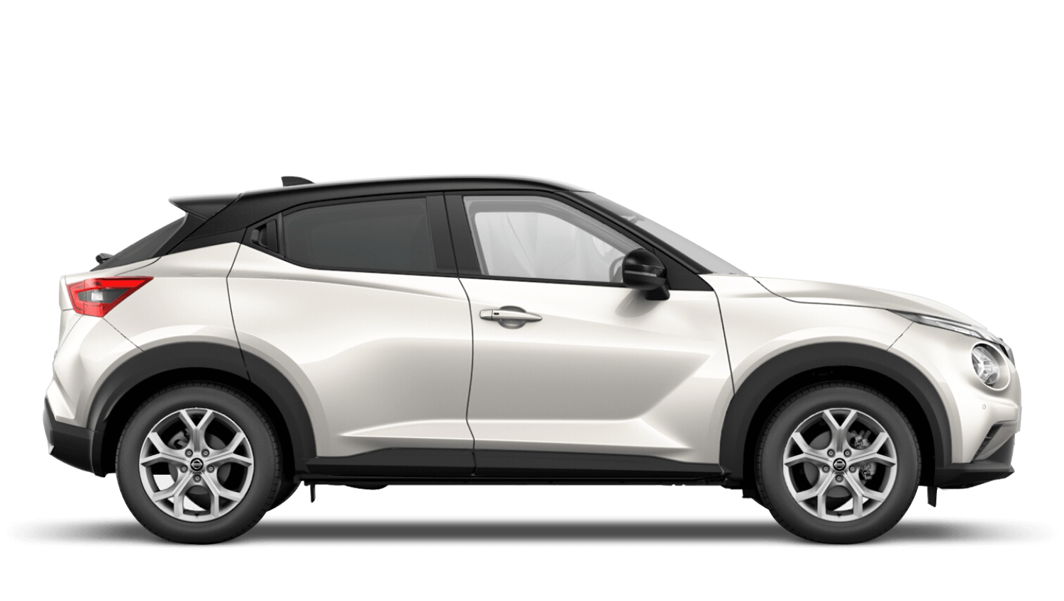 Storm White with Pearl Black Roof Next Generation Nissan Juke