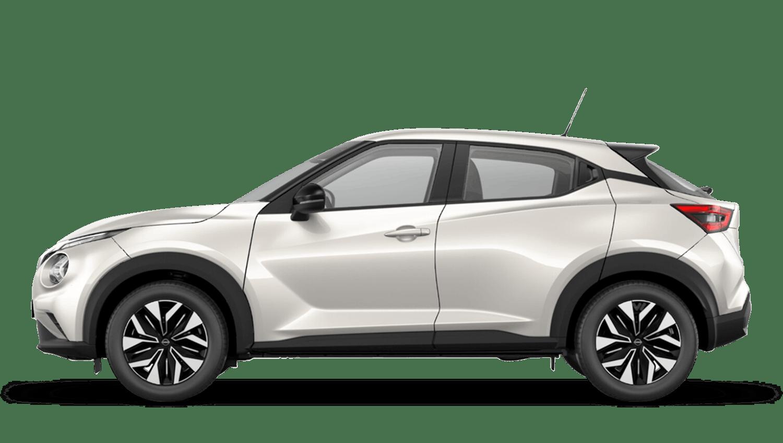 Storm White Next Generation Nissan Juke