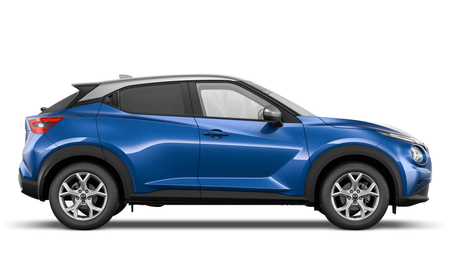 Vivid Blue with Blade Silver Roof Next Generation Nissan Juke