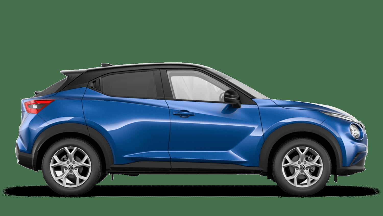 Vivid Blue with Pearl Black Roof Next Generation Nissan Juke