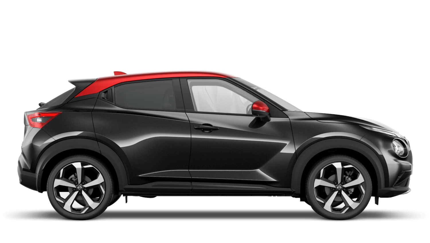 Pearl Black with Fuji Sunset Red Roof Next Generation Nissan Juke