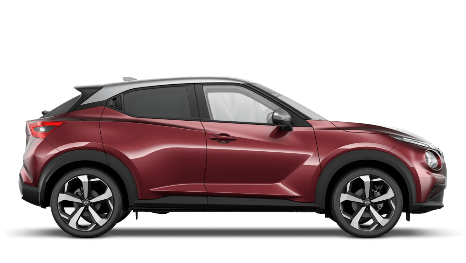 Burgundy with Blade Silver Roof Next Generation Nissan Juke