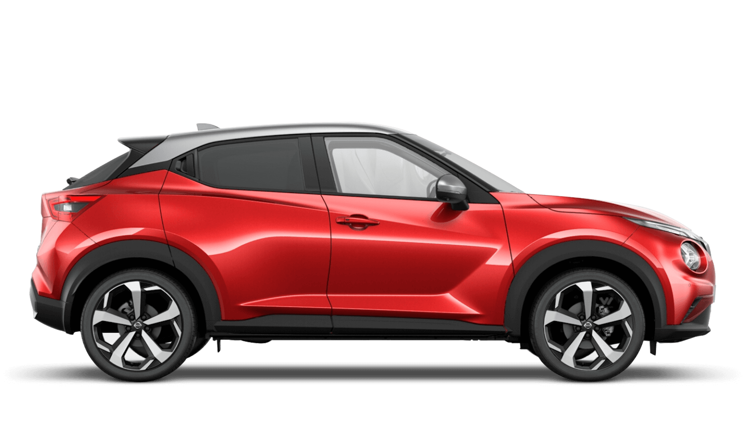 Fuji Sunset Red with Blade Silver Roof Next Generation Nissan Juke