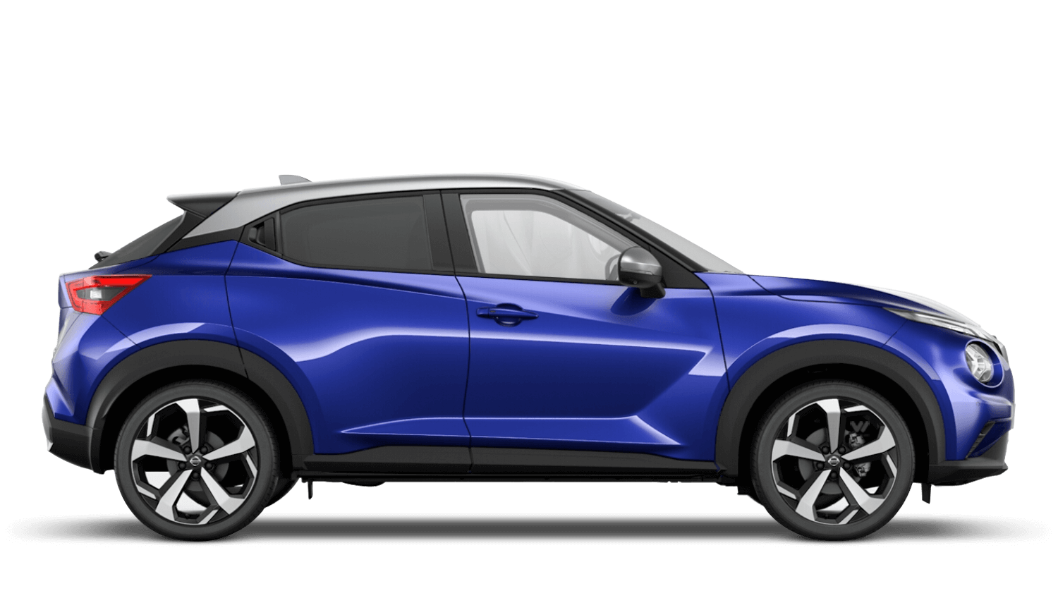 Ink Blue with Blade Silver Roof Next Generation Nissan Juke