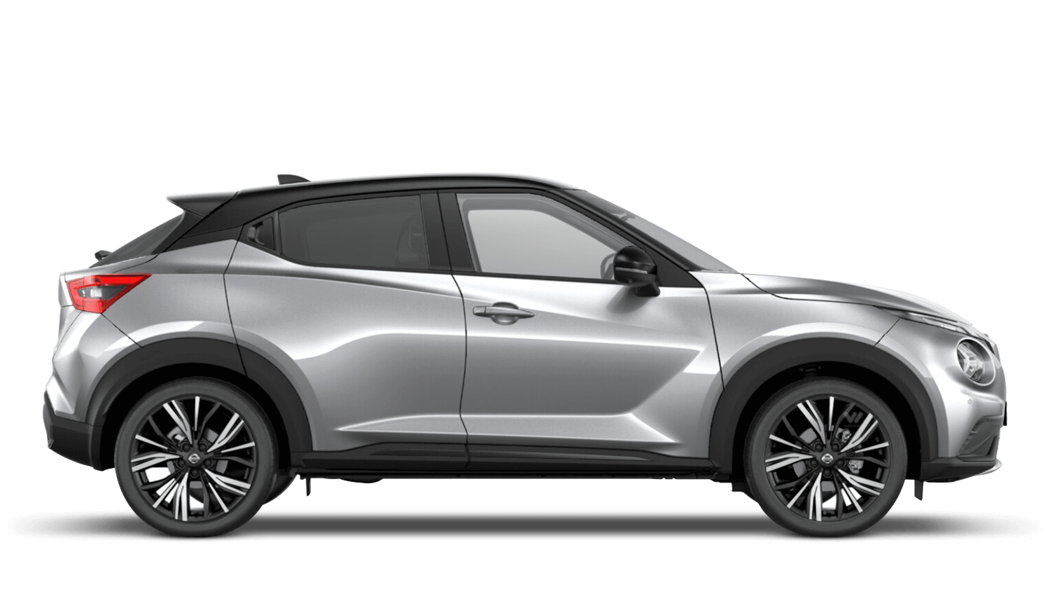 Blade Silver with Pearl Black Roof Next Generation Nissan Juke