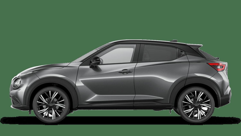 Gun Metallic with Pearl Black Roof Next Generation Nissan Juke