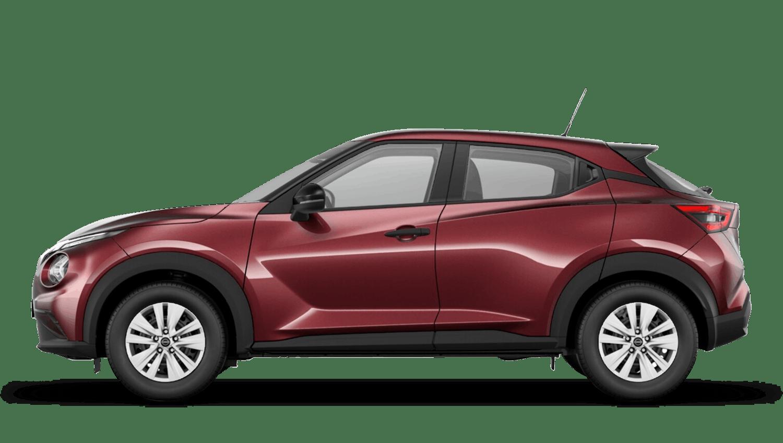 Burgundy Next Generation Nissan Juke