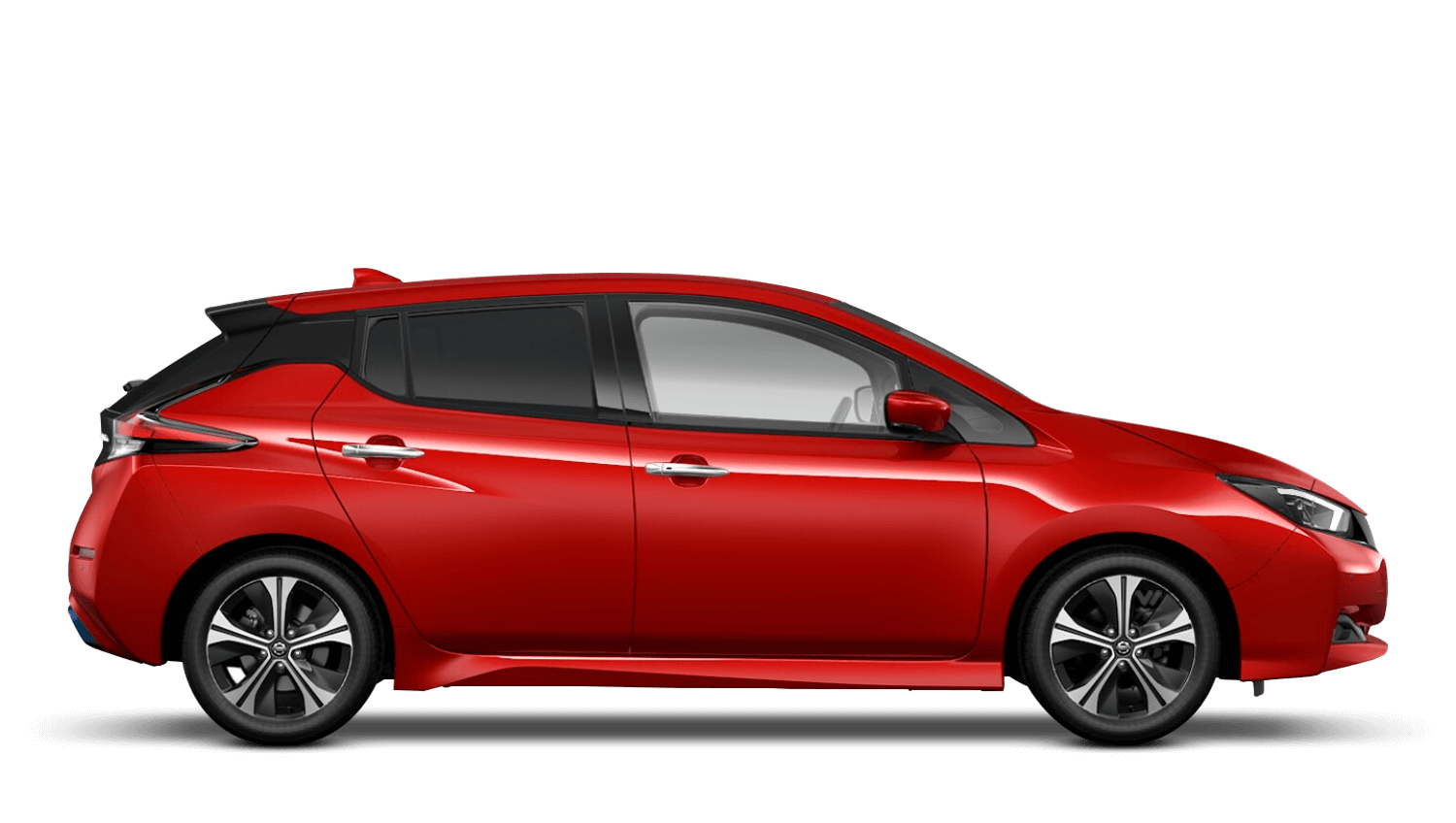 Flame Red Nissan LEAF