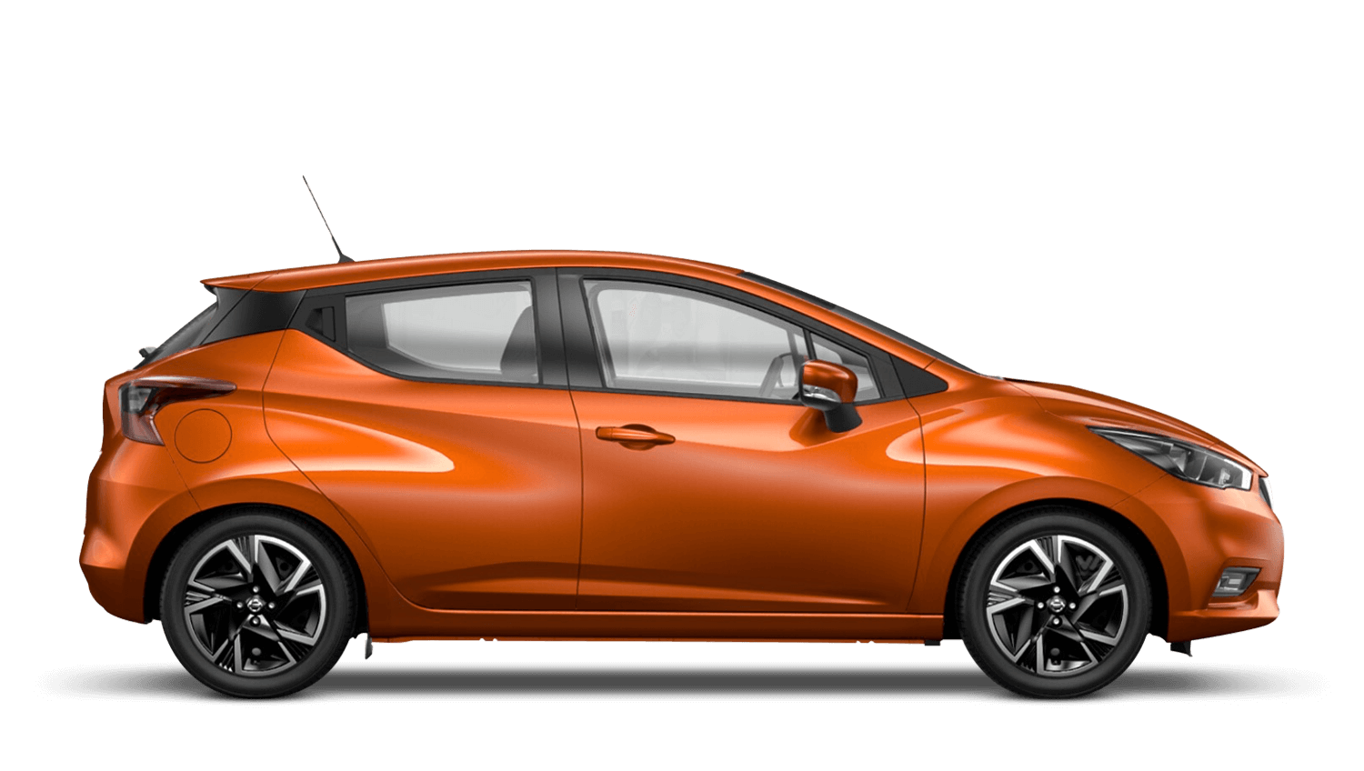 Energy Orange Nissan Micra