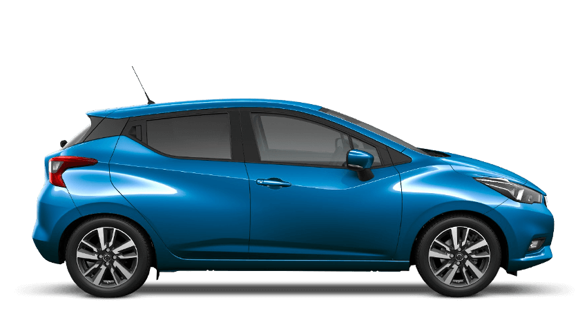 Power Blue Nissan Micra