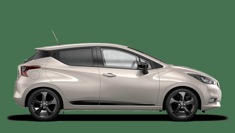 Warm Silver Nissan Micra