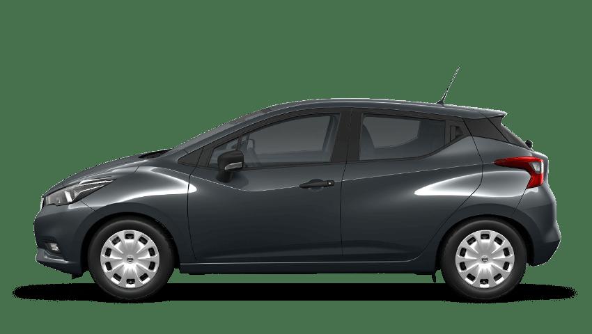 Echo Grey Nissan Micra