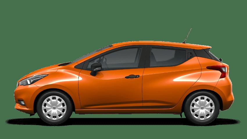 Energy Orange Nissan Micra