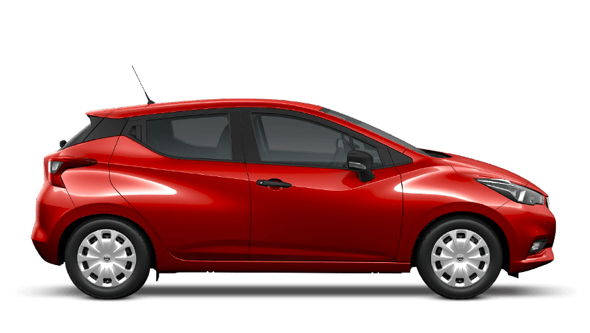 Passion Red Nissan Micra