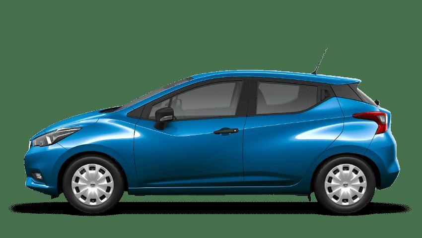 Power Blue Nissan Micra