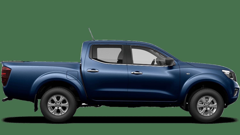 Cayman Blue Nissan Navara