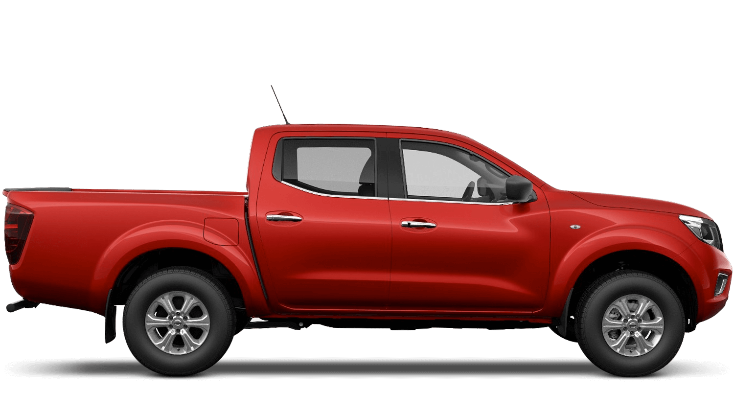 Flame Red Nissan Navara
