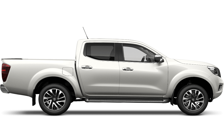 Storm White Nissan Navara