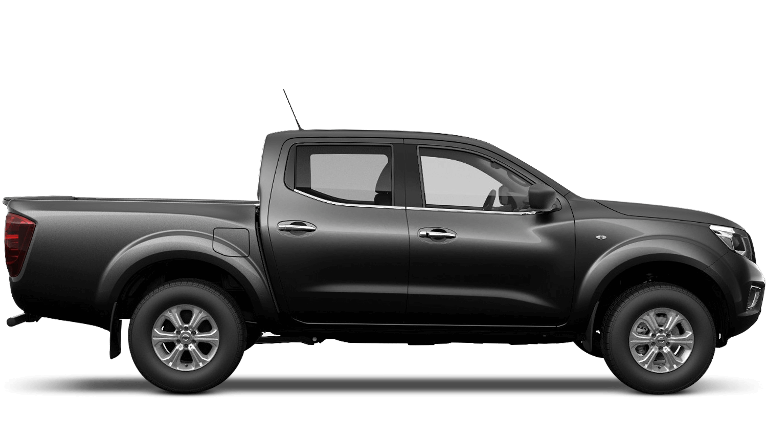 Twilight Grey Nissan Navara