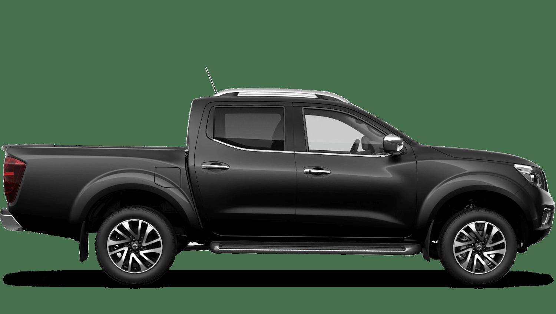 Metallic Black Nissan Navara