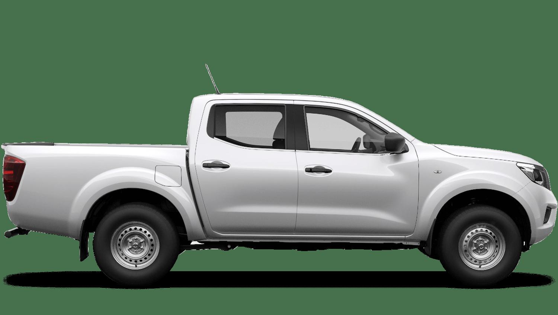 Alabaster White Nissan Navara