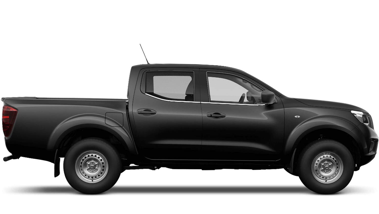 Metallic Black Nissan Navara