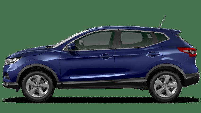 Ink Blue Nissan Qashqai