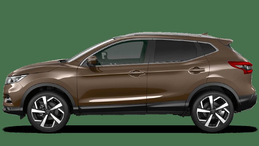 Chestnut Bronze Nissan Qashqai