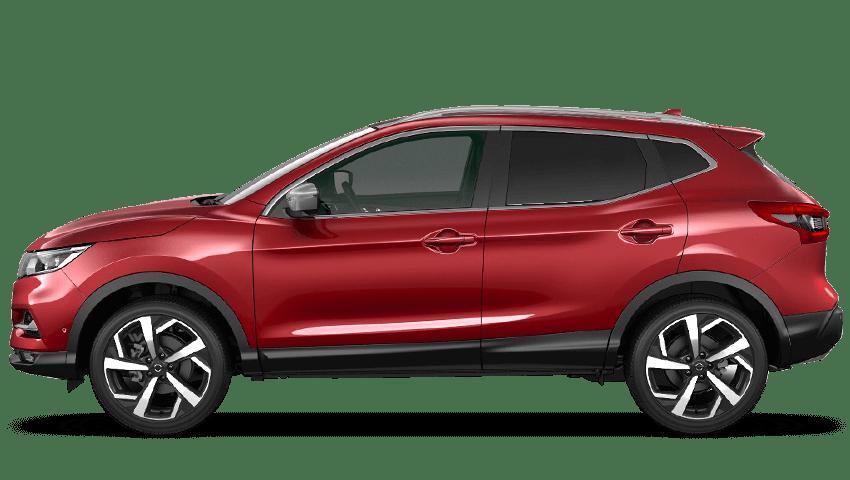 Magnetic Red Nissan Qashqai