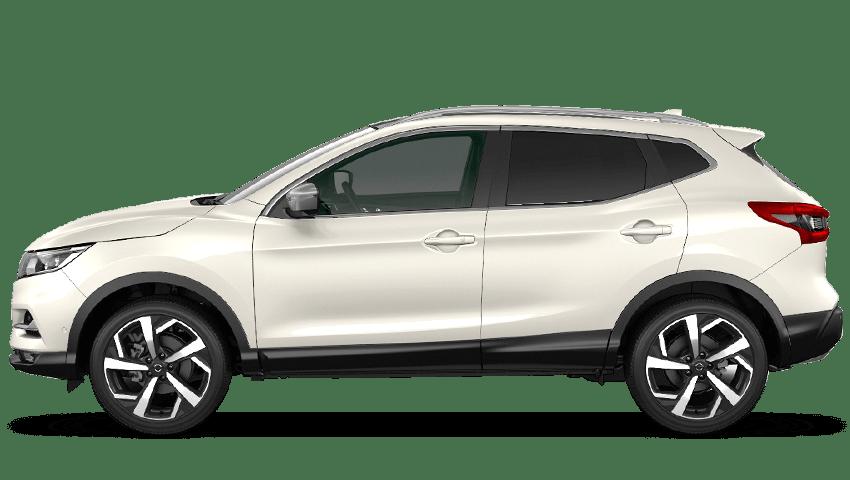 Storm White Nissan Qashqai