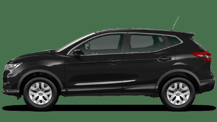 Pearl Black Nissan Qashqai