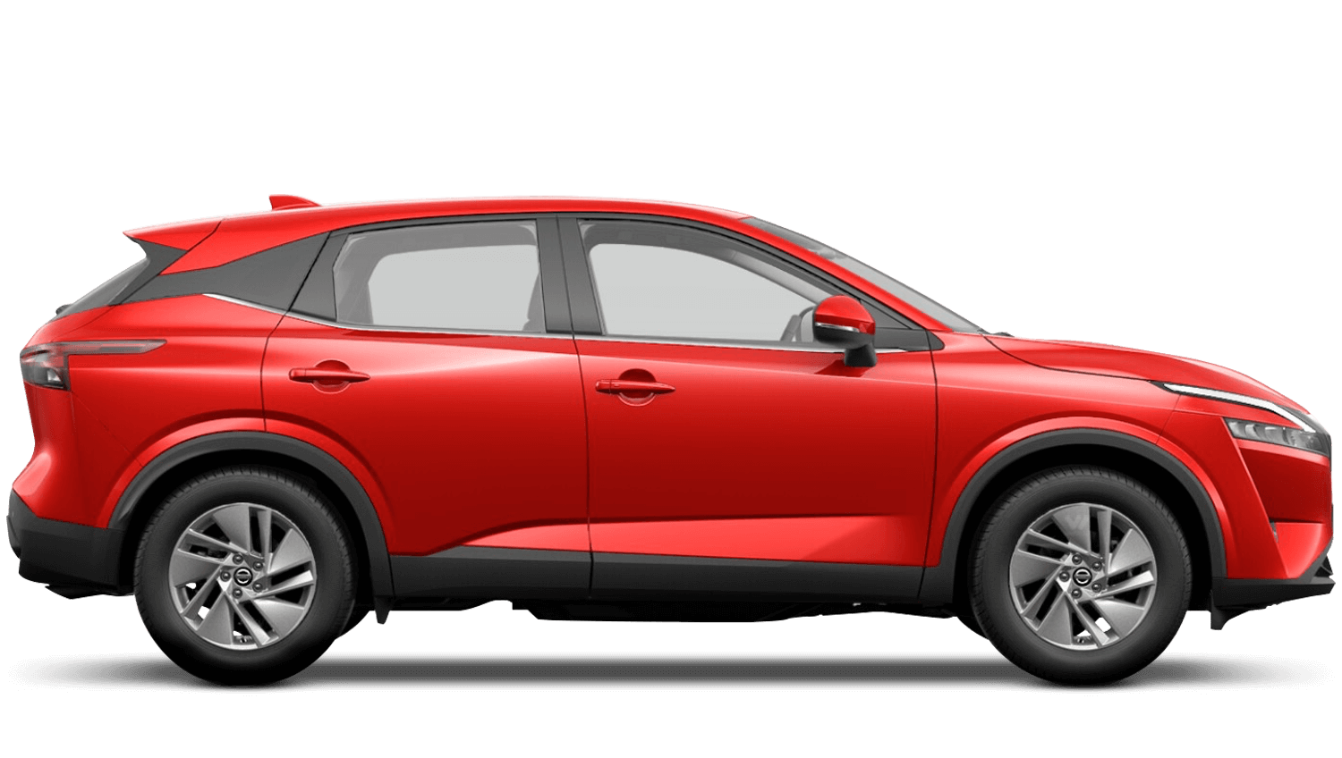 Flame Red All-New Nissan Qashqai