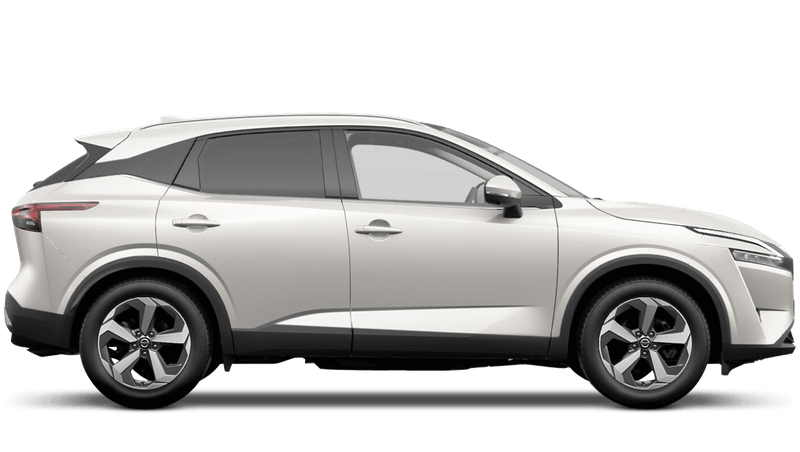 Pearl White All-New Nissan Qashqai