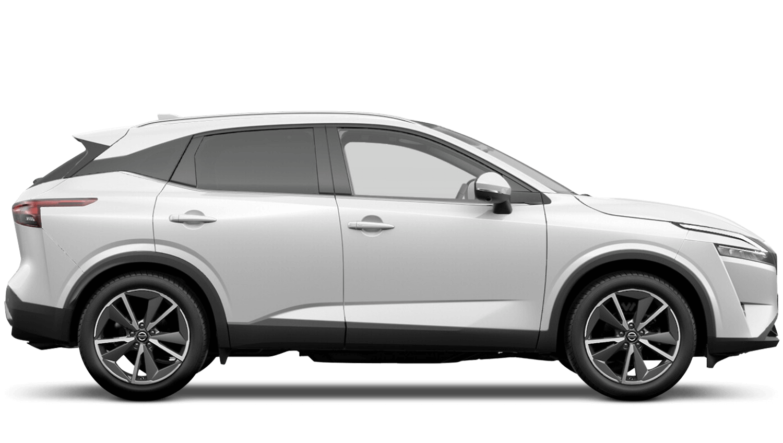 Arctic White All-New Nissan Qashqai