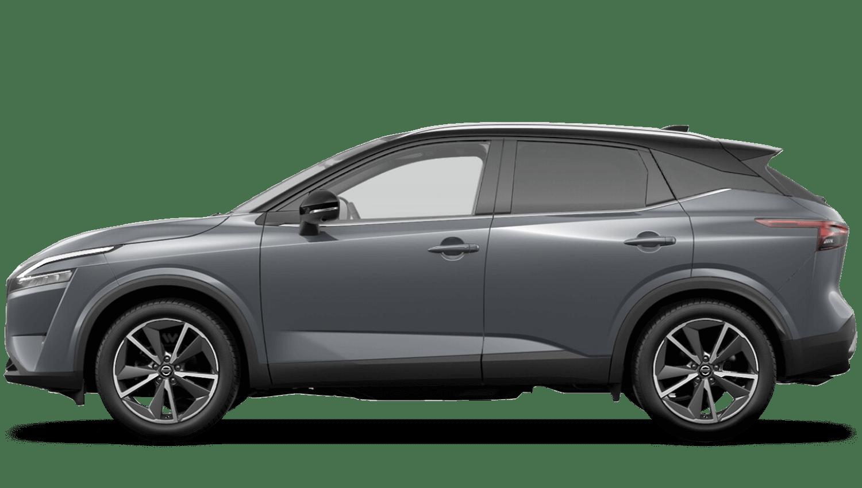 Ceramic Grey Pearl Black Roof All-New Nissan Qashqai