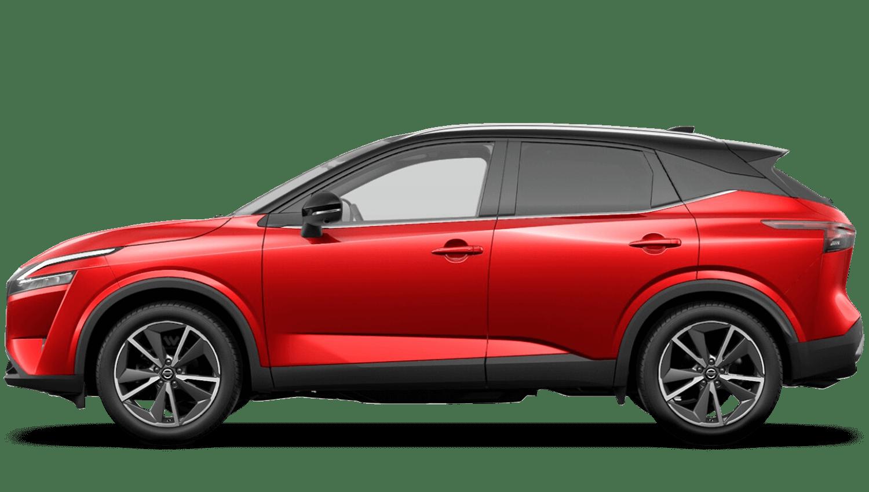 Fuji Sunset Red Pearl Black Roof All-New Nissan Qashqai