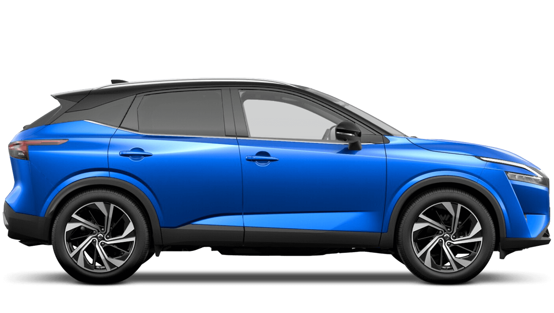 Magnetic Blue Pearl Black Roof All-New Nissan Qashqai