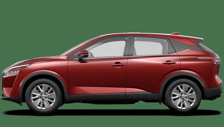 Burgundy All-New Nissan Qashqai