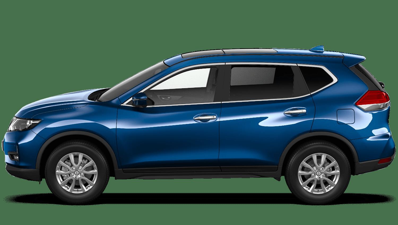 Sapphire Blue Nissan X Trail